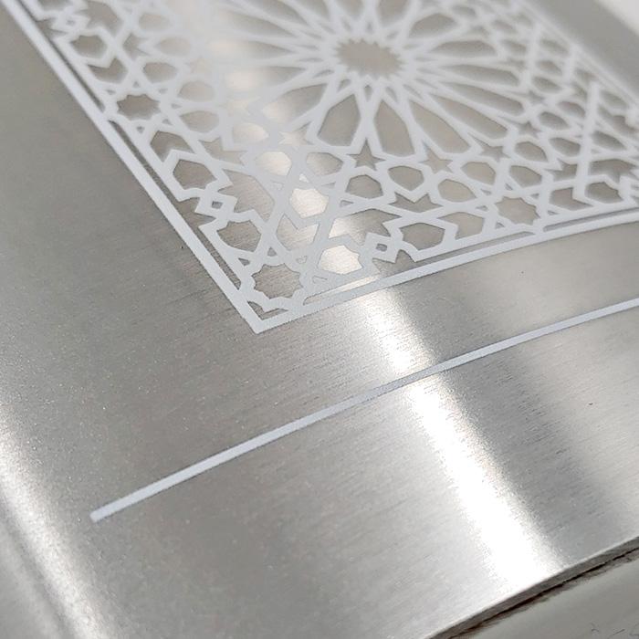 Print on Steel Hip Flask
