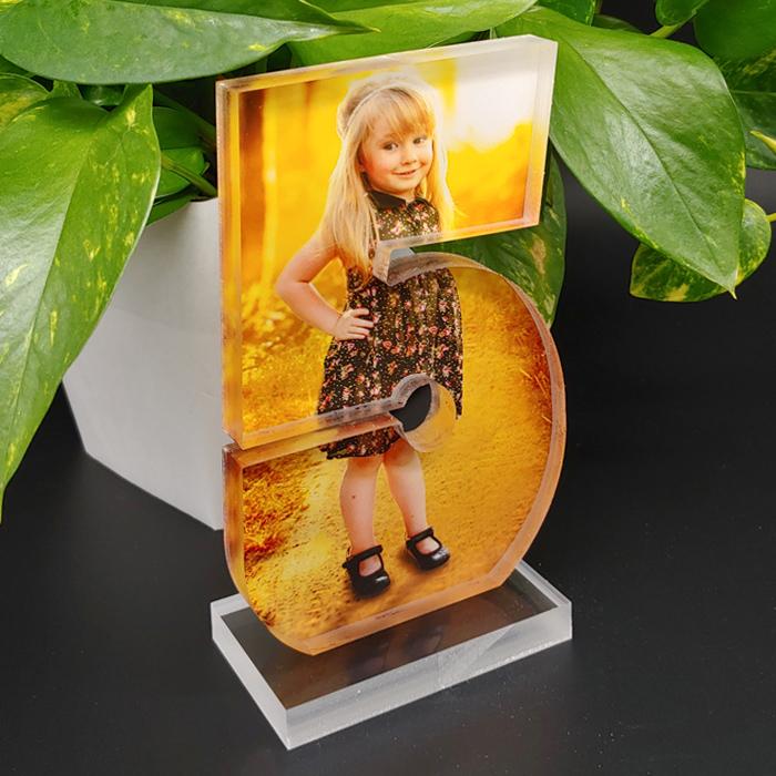 Acrylic Photo Block with custom print #5 sample